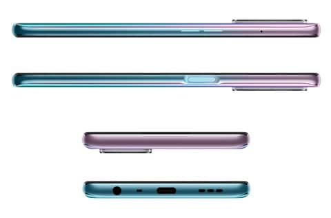 OPPO A54 5G side views
